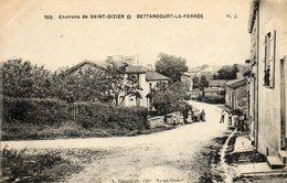 CPA - Environs De SAINT-DIZIER (52) - BETTANCOURT-la-FERREE - Aspect De La Rue Principale En 1916 - Autres Communes