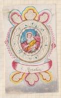 8AK2377 Image Religieuse Pieuse DENTELLE S ROSALIA - Imágenes Religiosas