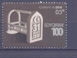 2018. Azerbaijan, 100y Of Genozide Against Azerbaijan, 1v,  Mint/** - Azerbaïdjan
