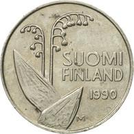 Monnaie, Finlande, 10 Pennia, 1990, TTB, Copper-nickel, KM:65 - Finlande