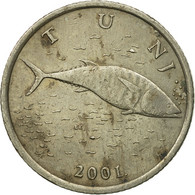 Monnaie, Croatie, 2 Kune, 2001, TB, Copper-Nickel-Zinc, KM:10 - Croatie