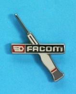 1 PIN'S //   ** FACOM / OUTILLAGES PROFESSIONNEL / TOURNEVIS MICRO-VISSAGE DE PRÉCISION ** - Unclassified