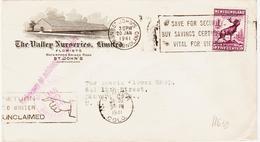 New Foundland/ Terre Neuve  En 1941, Certificats Vital For Victory  TB TB - Timbres