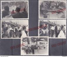 Au Plus Rapide Monaco Monte Carlo Grand Prix 1956 Ferrari Musso Dans Le Décor Vues Du Circuit - Coches