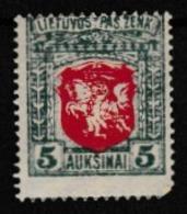 LITHUANIE 1919:  Timbre Neuf ** - 1909-45 Koninkrijk