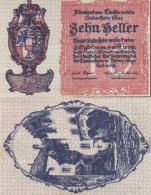 LIECHTENSTEIN - 10 HELLER 1920 - PICK. 1 - Liechtenstein