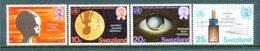 Swaziland 1976 Prevention Of Blindness Set MNH (SG 251-254) - Swaziland (1968-...)