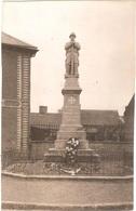 Dépt 80 - MÉRICOURT-L'ABBÉ - ÉPREUVE De CARTE POSTALE (photo R. LELONG) + PLAQUE De VERRE D'origine - Le Monument - France