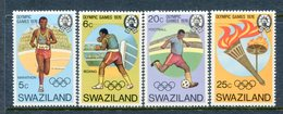 Swaziland 1976 Olympic Games, Montreal Set MNH (SG 255-258) - Swaziland (1968-...)