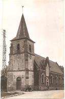 Dépt 80 - MÉRICOURT-L'ABBÉ - ÉPREUVE De CARTE POSTALE (photo R. LELONG) + PLAQUE De VERRE D'origine - L'ÉGLISE - France