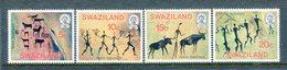 Swaziland 1977 Rock Paintings Set MNH (SG 275-278) - Swaziland (1968-...)