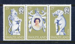 Swaziland 1978 25th Anniversary Of Coronation Set MNH (SG 293-295) - Swaziland (1968-...)