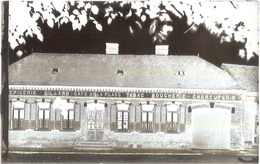 Dépt 80 - MÉRICOURT-L'ABBÉ - PLAQUE De VERRE (négatif Photo Noir & Blanc, Cliché R. Lelong) - Café-Épicerie De La Place - France