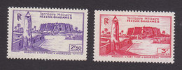 Fezzan, Scott #1N6-1N7, Mint Hinged, Scenes Of Fezzan, Issued 1946 - Fezzan (1943-1951)