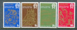Swaziland 1979 Centenary Of Discovery Of Gold In Swaziland Set MNH (SG 314-317) - Swaziland (1968-...)