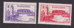 Fezzan, Scott #1N6-1N7, Mint Never Hinged, Scenes Of Fezzan, Issued 1946 - Unused Stamps