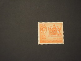 TRINIDAD T. - 1964 STEMMA 15 C. - Nuovi(++) - Trindad & Tobago (1962-...)