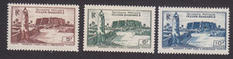 Fezzan, Scott #1N8-1N10, Mint Never Hinged, Scenes Of Fezzan, Issued 1946 - Unused Stamps