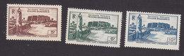 Fezzan, Scott #1N8-1N10, Mint Hinged, Scenes Of Fezzan, Issued 1946 - Unused Stamps