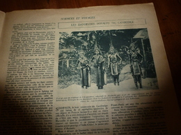 1922 SEV: Les Danseuses Royales Du Cambodge , Sisowath; Les Canaques;Devenir Vétérinaire;Le Ver A Soie;Egypte;etc - Libri, Riviste, Fumetti