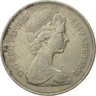 Monnaie, Grande-Bretagne, Elizabeth II, 10 New Pence, 1969, B+, Copper-nickel - 1971-… : Monnaies Décimales
