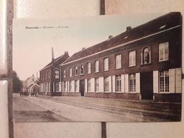 GEKLEURDE POSTKAART MOERZEKE - Hamme