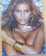 Jf6.h- Calendrier 2007 CLARA MORGANE Maxi-format 34,5x53cm - Calendars