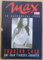 Jf6.k- Calendrier 1995 TABATHA CASH Maxi-format 66x33cm Celine Barbe - Calendars