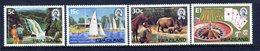 Swaziland 1981 Tourism Set MNH (SG 372-375) - Swaziland (1968-...)