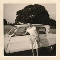 Photo 88 Mm X 88 Mm  - 1962 - Automobile Voiture  Ami 6 Citroen - Scan R/V - Automobiles