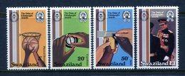 Swaziland 1981 25th Anniversary Of Duke Of Edinburgh Award Scheme Set MNH (SG 385-388) - Swaziland (1968-...)