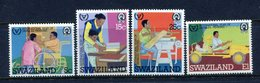 Swaziland 1981 International Year Of Disabled Persons Set MNH (SG 389-392) - Swaziland (1968-...)