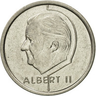 Monnaie, Belgique, Albert II, Franc, 1993, Bruxelles, TTB+, Nickel Plated Iron - 1993-...: Albert II