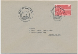332 / 646 Brief Nach Reinach Mit K-Stempel Beromünster - Suisse