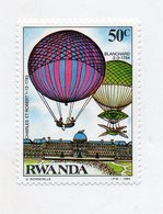 RWANDA - 1984 - Francobollo Tematica Trasporti - Mongolfiere - Nuovo - (FDC11435) - Rwanda