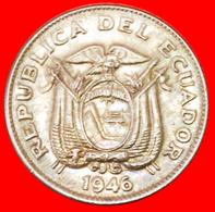 # USA: ECUADOR ★ 5 CENTAVOS 1946! LOW START ★ NO RESERVE! - Ecuador