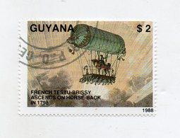 GUYANA - 1988 - Francobollo Tematica Trasporti - Mongolfiere - Usato - (FDC11436) - Guiana (1966-...)
