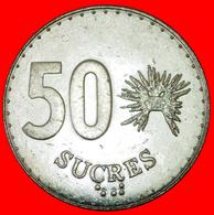 # CANADA: ECUADOR ★ 50 SUCRES 1991 MINT LUSTER! LOW START ★ NO RESERVE! - Ecuador