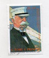 S. Tomè E Principe - Francobollo Tematica Trasporti - Zeppellin - Usato - (FDC11439) - Sao Tomé E Principe