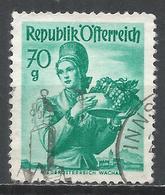 Austria 1958. Scott #533a (U) Lower Austria, Wachau Costume * - 1945-.... 2ème République