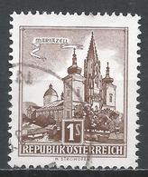 Austria 1959. Scott #622 (U) Mariazell Castle * - 1945-.... 2ème République