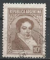 Argentina 1942. Scott #431 (U) Rivadavia B., President * - Argentine