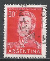 Argentina 1955. Scott #629 (U) General, Jose De San Marin * - Argentine