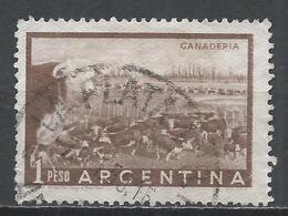 Argentina 1958. Scott #635 (U) Cattle Ranch (Ganaderia) * - Argentine