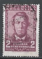 Argentina 1957. Scott #666 (U) Esteban Echeverria (1805-51), Poet * - Argentine