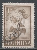 Argentina 1961. Scott #690 (U) Sunflower * - Argentine