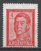 Argentina 1962. Scott #694 (U) Jose De San Marin, President * - Argentine