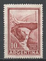 Argentina 1960. Scott #696 (U) Inca Bridge, Mendoza * - Argentine