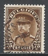 Belgium 1932 Scott #228 (U) King Albert * - 1931-1934 Képi