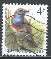 Belgium 1989. Scott #1222 (U) Gorge Bleu, Bird * - 1985-.. Oiseaux (Buzin)